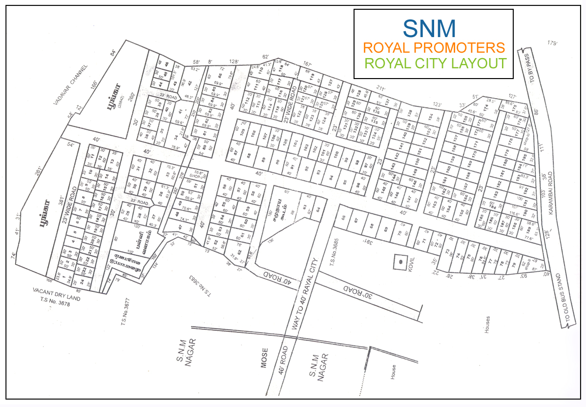 SNM Royal City Layout